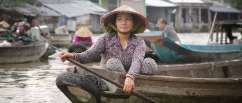 I Vietnam er der mange flydende markeder