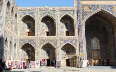 Oplev Emir Timur Pladsen på din rejse til Centralasien
