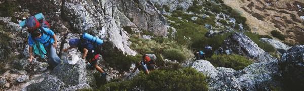 Tag på trekking i Portugal