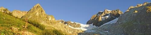 Tag på vandring i Schweiz af Mont Blanc Vest ruten