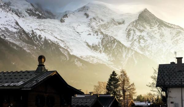 Chamonix nær Mont Blanc byder på mange spændende oplevelser