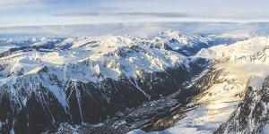 Chamonix Valley nær Mont Blanc byder på fantastisk natur