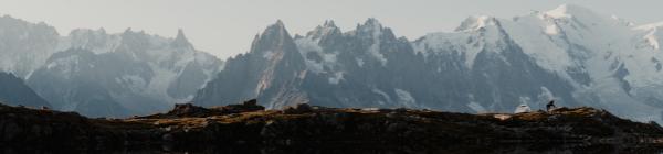 En rejse til Mont Blanc kan byde på utrolige udsigter til det sneklædte bjerg