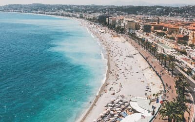 Besøg Nice på din Frankrig rejse
