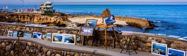 Tag på malerferie i Frankrig