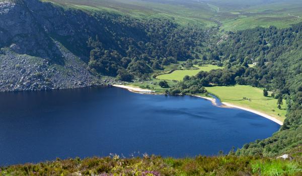 Oplev Lough Tay på din rejse til Irland