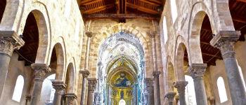 Cefalù katedral i Sicilien