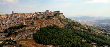Enna by på Sicilien