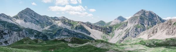 Tag på trekking i Italien