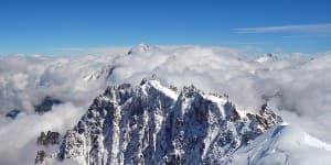 Find vandring om Mont Blanc i Italien