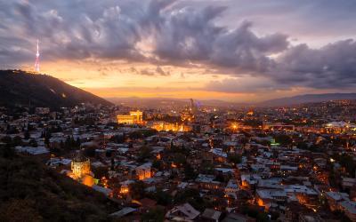 Besøg Tbilisi på din rejse til Kaukasus