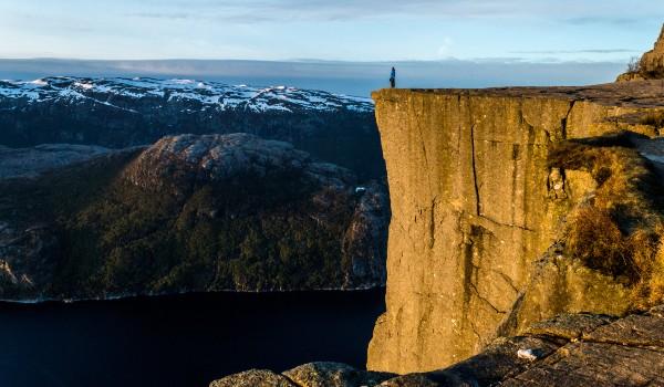 Oplev Preikestolen på din rejse til Norge