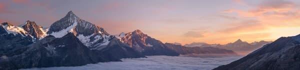 Find rejse med vandring i Alperne i Schweiz