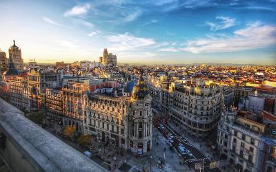 Besøg Madrid når du rejser til Spanien