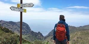 Tag på vandring på Tenerife