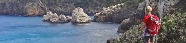 Tag på vandring på Mallorca