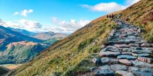 Oplev Ben Nevis på din rejse til Storbritannien