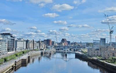 Besøg Glasgow på din rejse til Storbritannien
