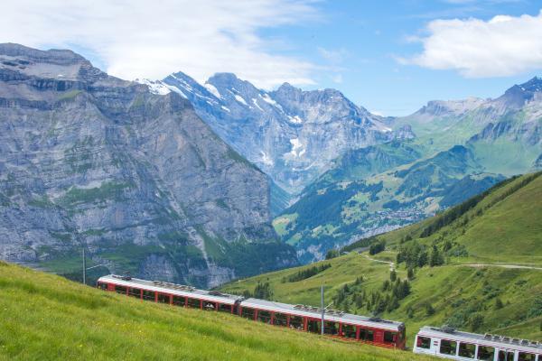 Find togrejse i Europa