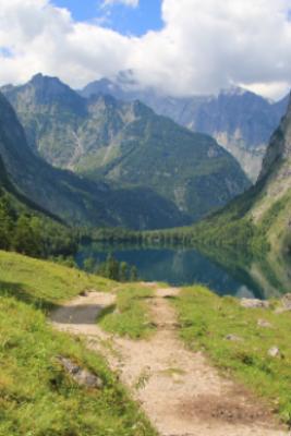 Oplev de smukke bjerge i Bayern på en vandreferie i Tyskland