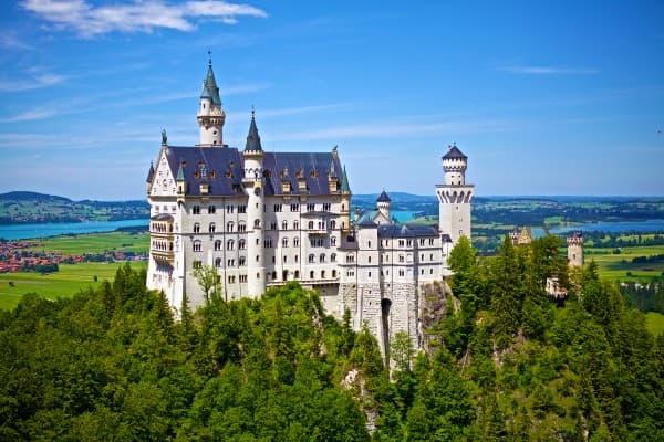 Oplev Neuschwanstein Palads på din rejse til Tyskland