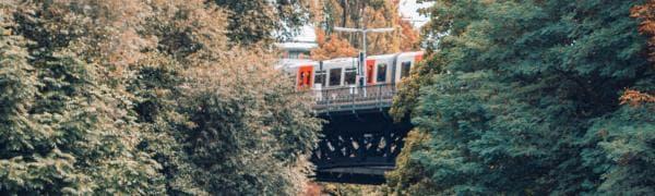 Tag med på togrejse i Tyskland