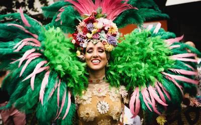 Tag til Karneval i Mellemamerika