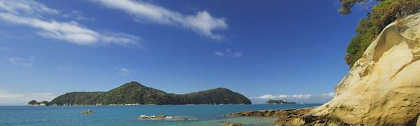 Nationalpark ved rejser til New Zealand