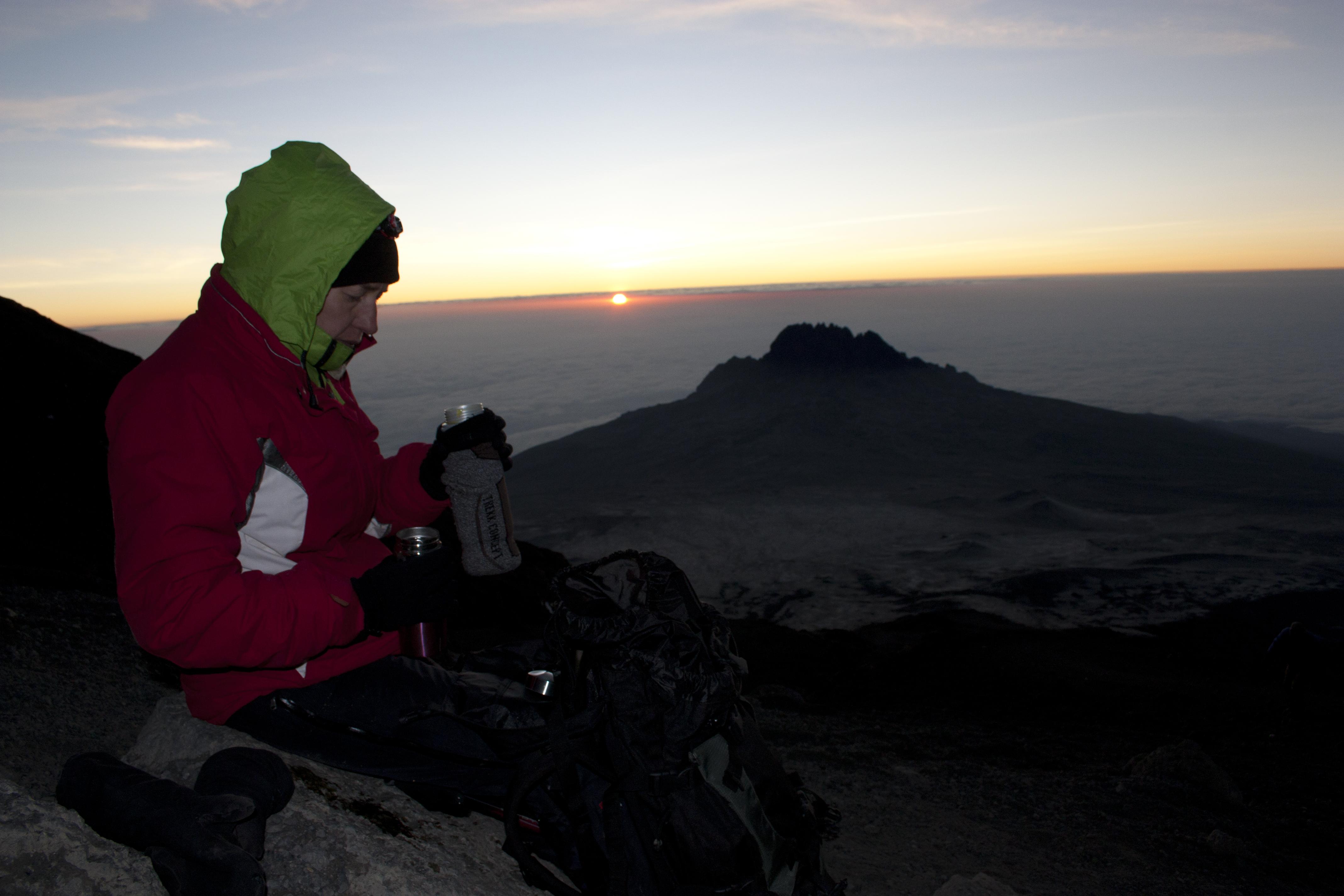 En dag på Kilimanjaro