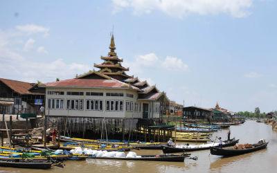 Rejser til Burma kræver visum