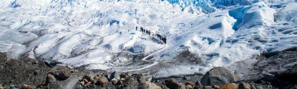 Trekking er muligt når du rejser i Argentina
