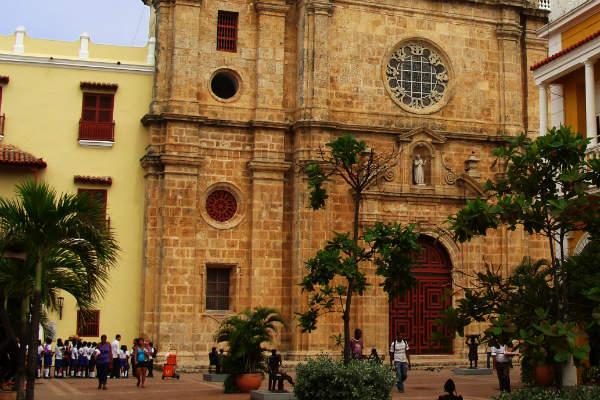 Rejser til den colombianske storby, Cartagena
