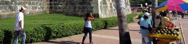 Cartagenas berømte fæstning er optaget på UNESCOs verdensarvsliste