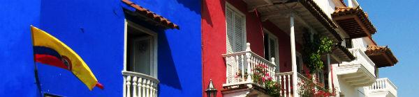 Salentos huse er meget farverige