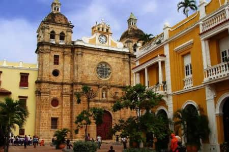 I Havnebyen Cartagena i Colombia er klimaet perfekt til badeferie