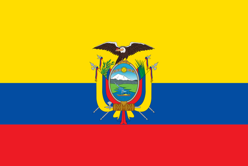 Ecuadors flag
