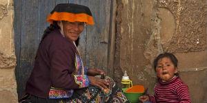 Når du rejser til Ecuador, kan du besøge indianermarkedet i Otavalo