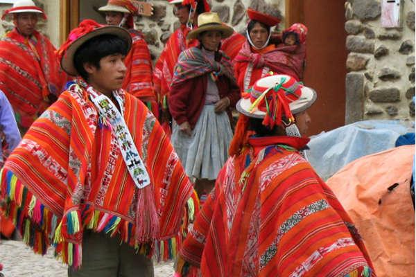 Besøg indianermarkedet i Ecuador