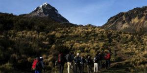 Kombiner din Ecuador rejse med trekking ved Iliniza Norte