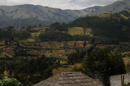 Quito ligger i Ecuadors højland
