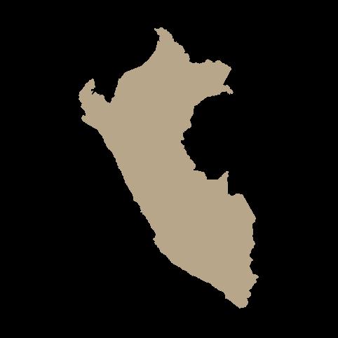 Kort over Peru