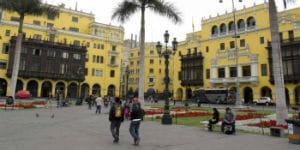 Lima er Perus hovedstad