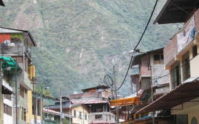 Aguas Calientes ved Machu Picchu i Peru