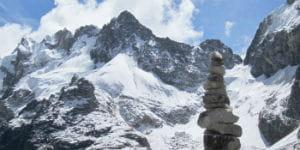 Det er meget populært at trekke ved Salkantay Passet, når man rejser til Peru
