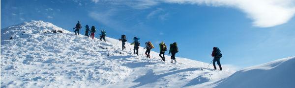 Kiplings eksperter i bjergbestigning